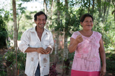 Farmers in Paraguay